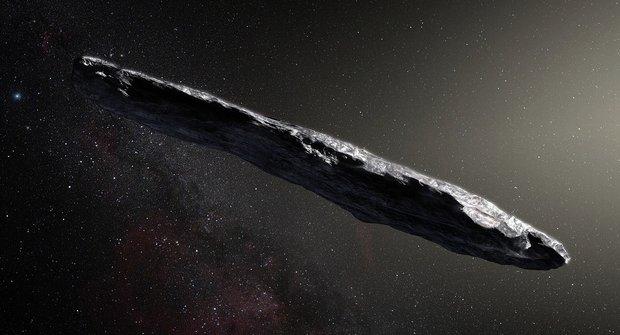 Oumuamua: Zvláštní asteroid nebo výtvor jiné civilizace?