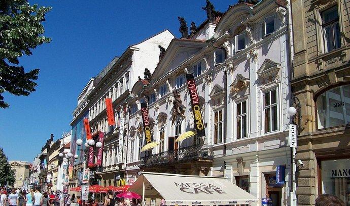 Palác Savarin v pražské ulici Na příkopě