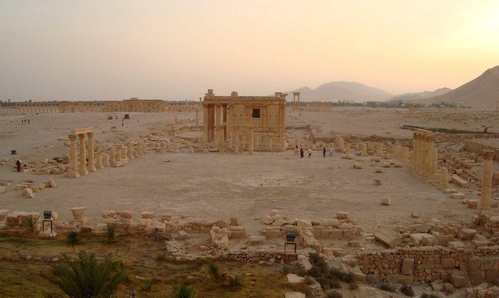 Starověký chrám v Palmýře