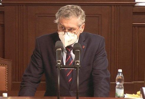 Pandemický zákon ve Sněmovně: Poslanec a hejtman Moravskoslezského kraje Ivo Vondrák (ANO) (18.2.2021)