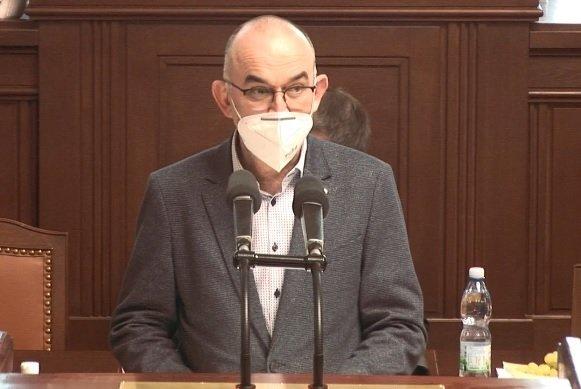 Sněmovna o pandemickém zákonu: Ministr zdravotnictví Jan Blatný (18.2.2021)