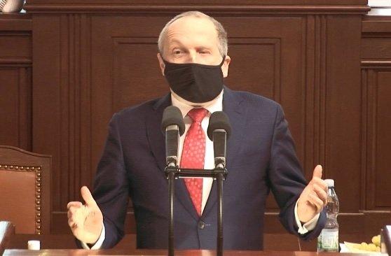 Pandemický zákon ve Sněmovně. Václav Klaus mladší (18.2.2021)