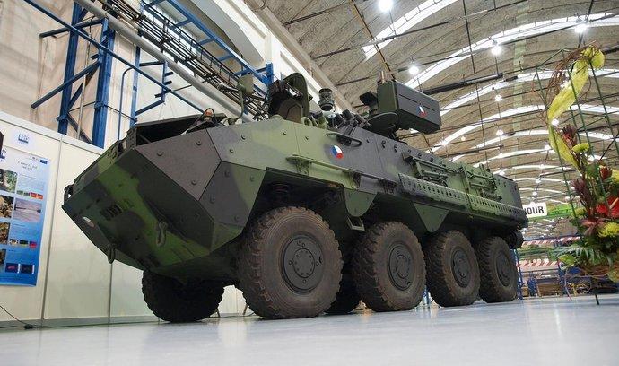 Pandur pro českou armádu