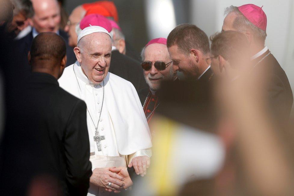 Papež František na návštěvě Slovenska (13. 9. 2021)