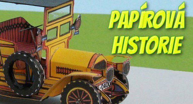 Papírová historie #19: Papírový žluťák Peugeot