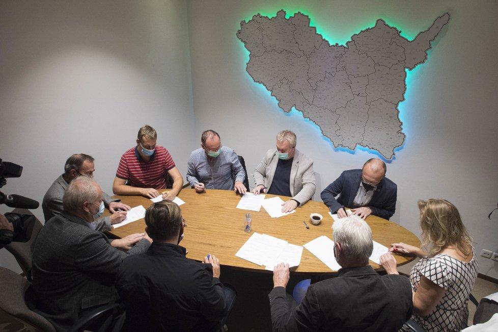 Povolební vyjednávání v Pardubickém kraji (3.10.2020)