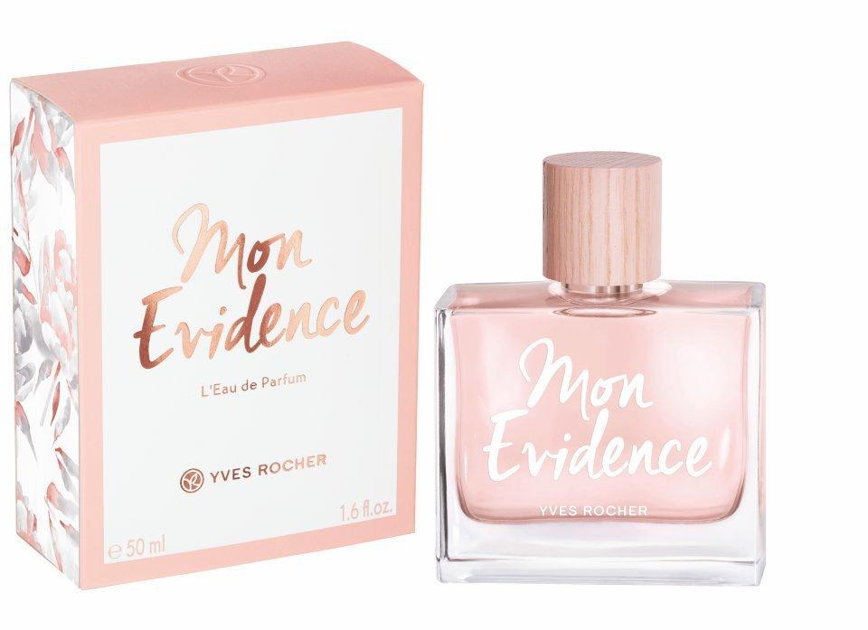 Parfémová voda Mon Evidence, Yves Rocher, 1690 Kč/50 ml