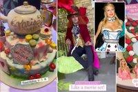 Paris Hiltonová v říši divů: Pompézní rozlučka se svobodou v pohádkovém stylu!