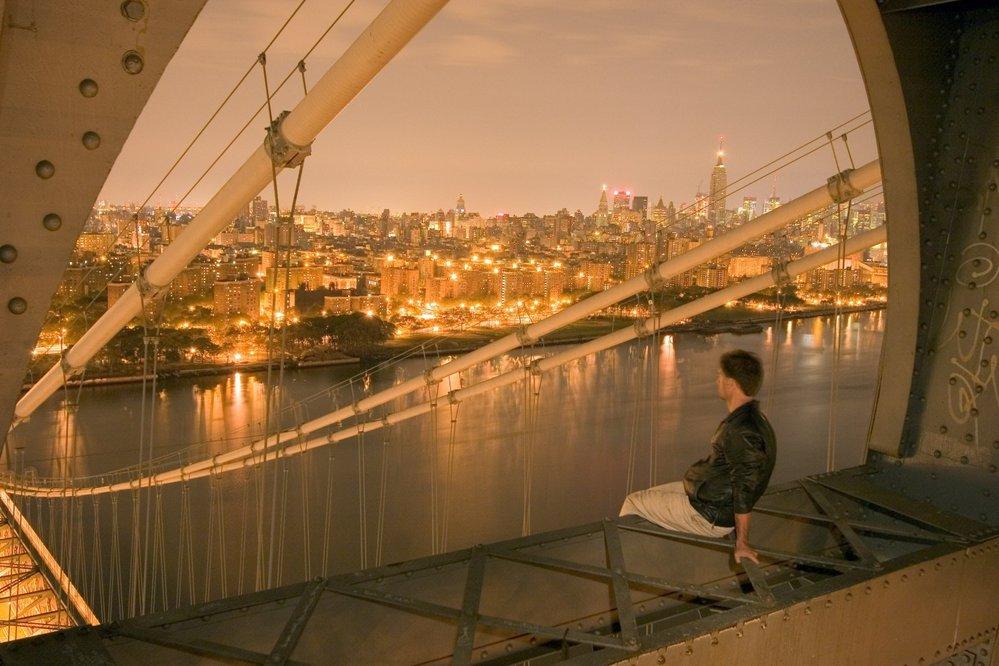 Pohled na New York z Williamsburgského mostu