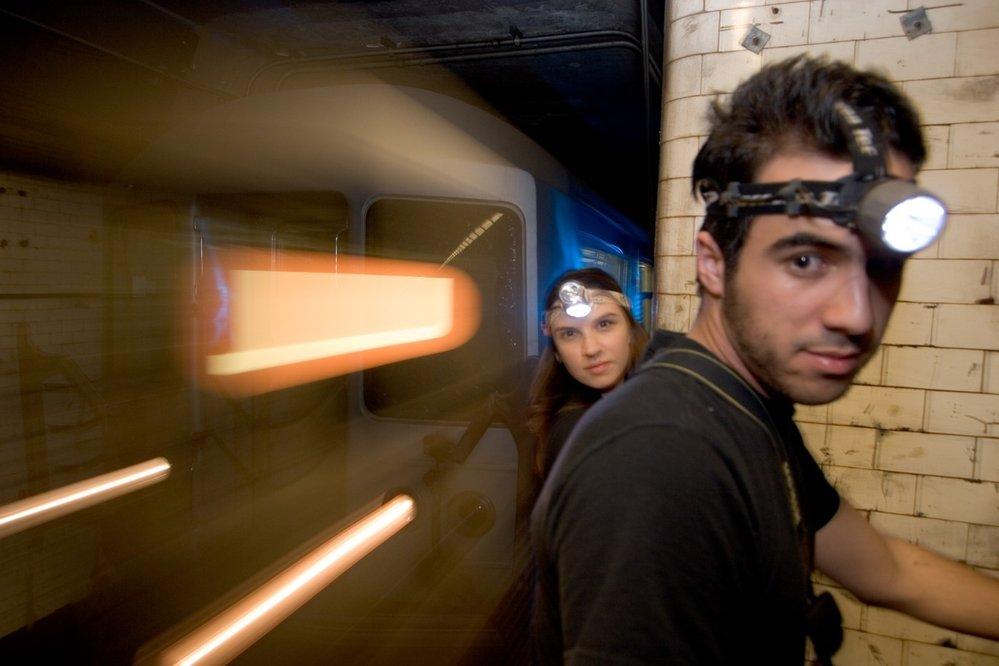 Průzkumníci v newyorském metru