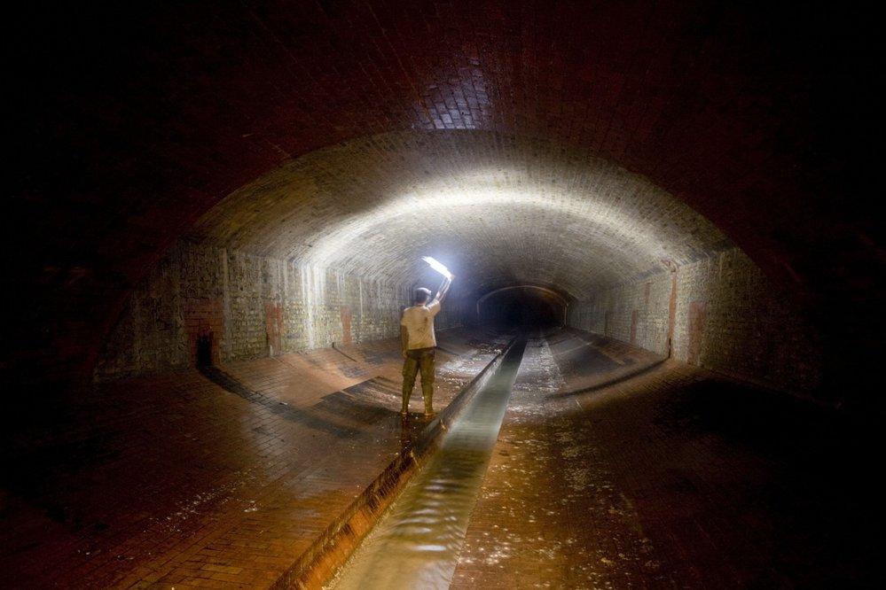 Londýnská podzemní řeka Tyburn