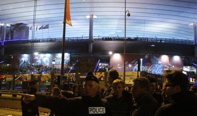 Pařížský stadion Stade de France po teroristickém útoku