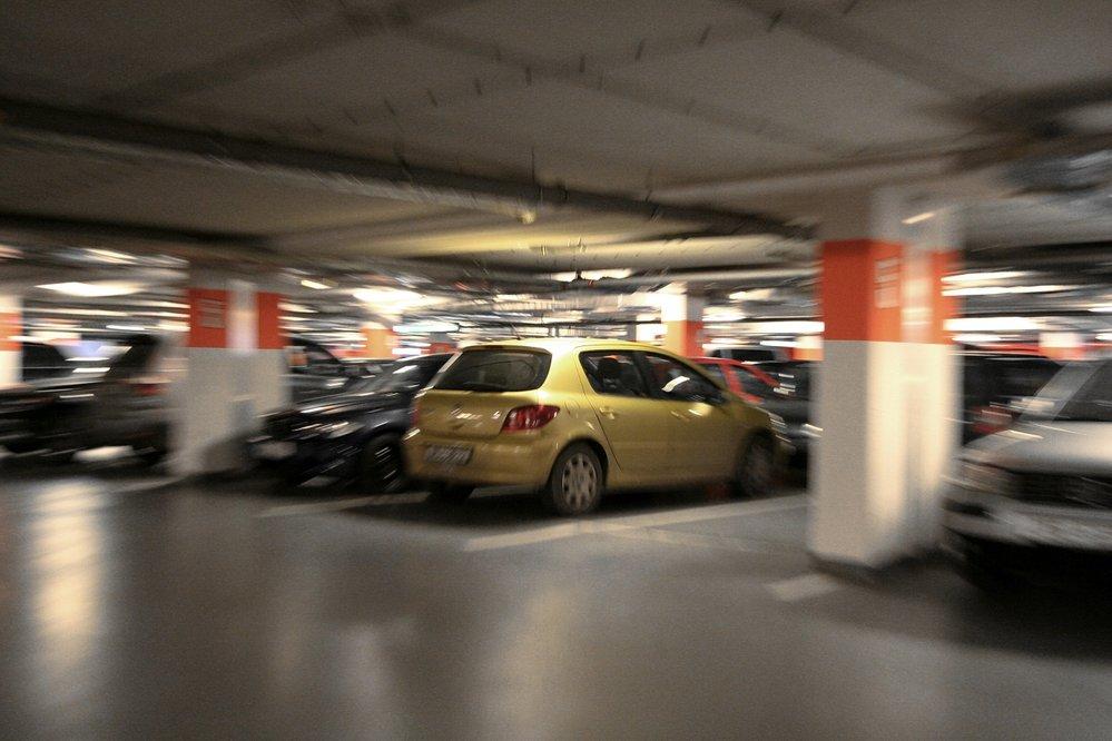 Podzemní parkoviště (ilustrační foto)