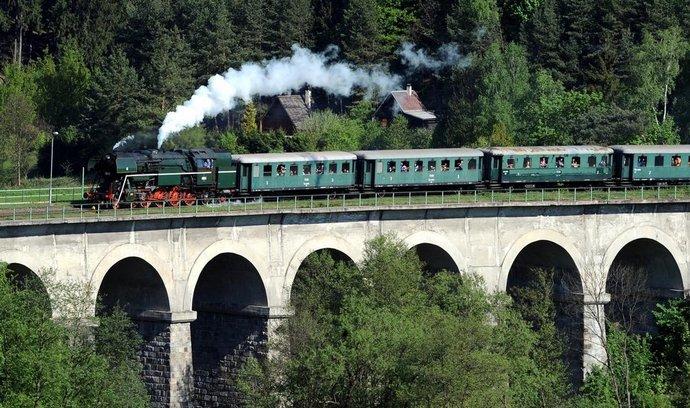 Parní lokomotiva, ilustrační foto