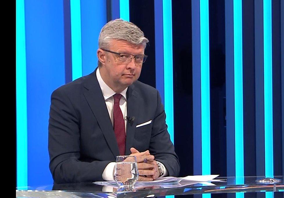 Karel Havlíček (ANO) v Partii na CNN Prima News (17.10.2021)