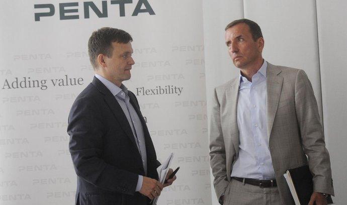 Partneři Penta Investments Jaroslav Haščák a Marek Dospiva
