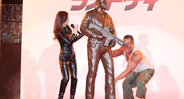 Japonci mají čokoládového Bruce Willise