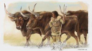 Záhada pastevkyně praturů je stará 9 tisíc let