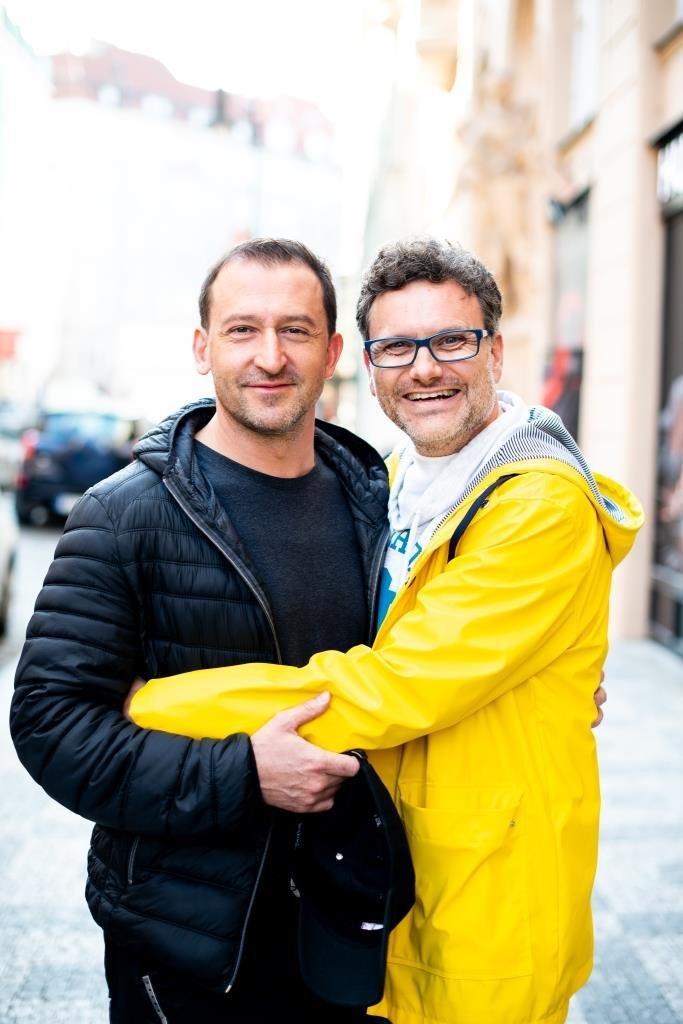Patrik Hartl a Martin Hofmann