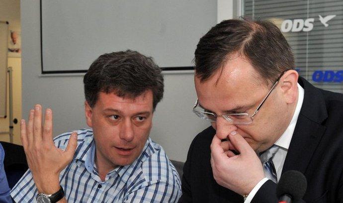 Pavel Blažek a Petr Nečas