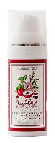 Ochranný rodinný pleťový balzám s přírodními oleji JABLKO a MANDLE, Manufaktura, 259 Kč/50 ml