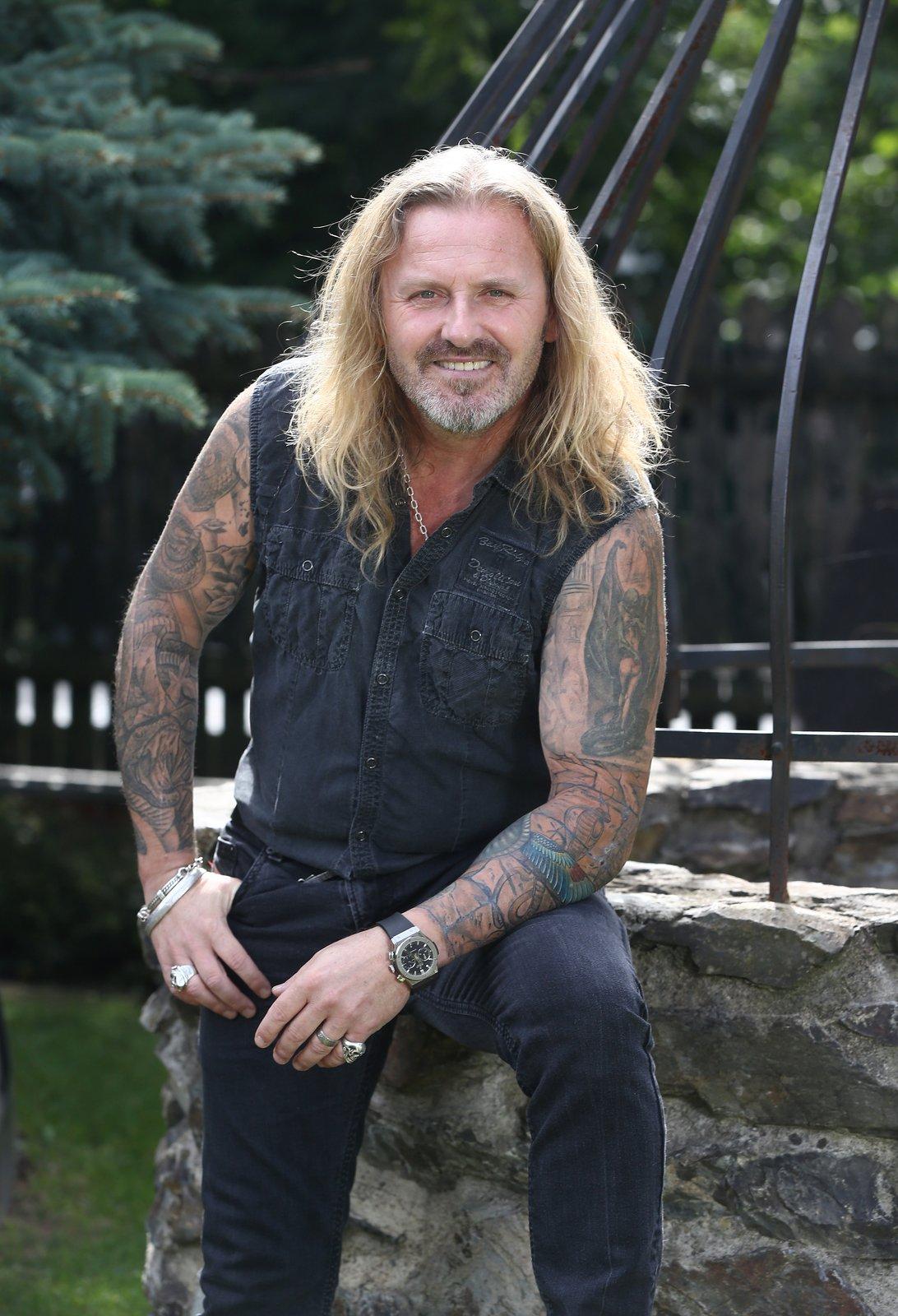 Rocker Pepa Vojtek