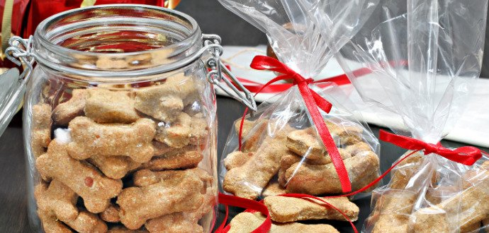 Upečte psí cukroví, které je pro čtyřnohé parťáky bezpečné