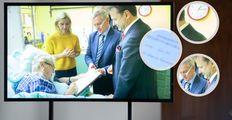 Pět nejasností kolem Zemanova videa z nemocnice: Přineslo víc otázek než odpovědí