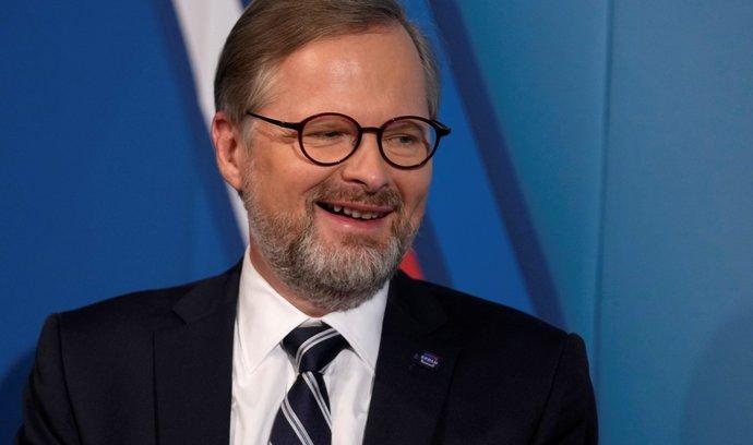 Předseda ODS a lídr koalice Spolu Petr Fiala