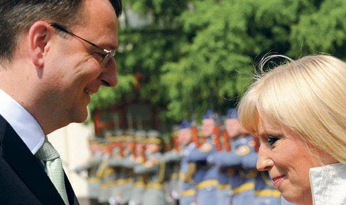 Petr Nečas, Iveta Radičová