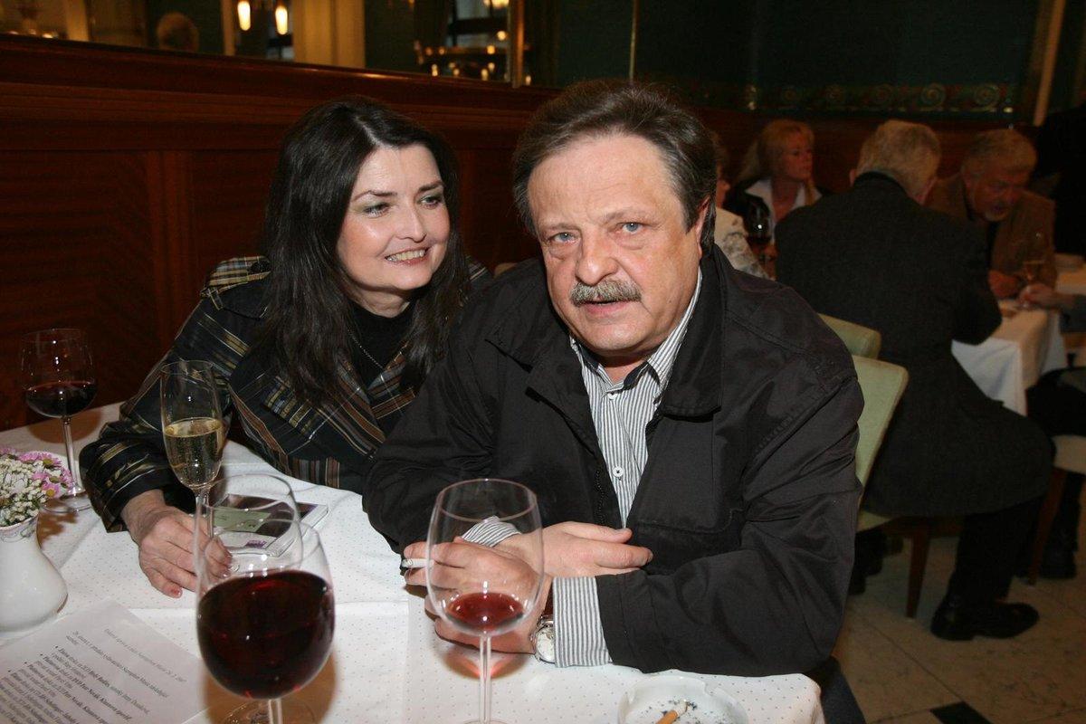 Petr Spálený s Miluškou Voborníkovou