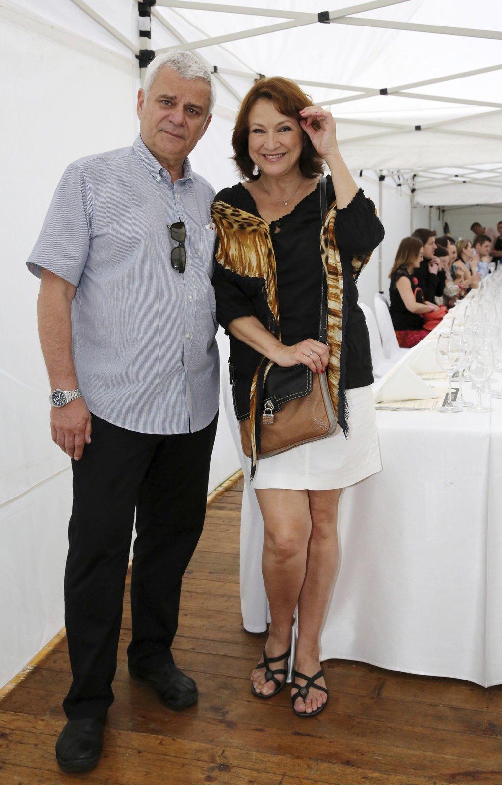 Zlata Adamovská a Petr Štěpánek se brali před dvěma roky.