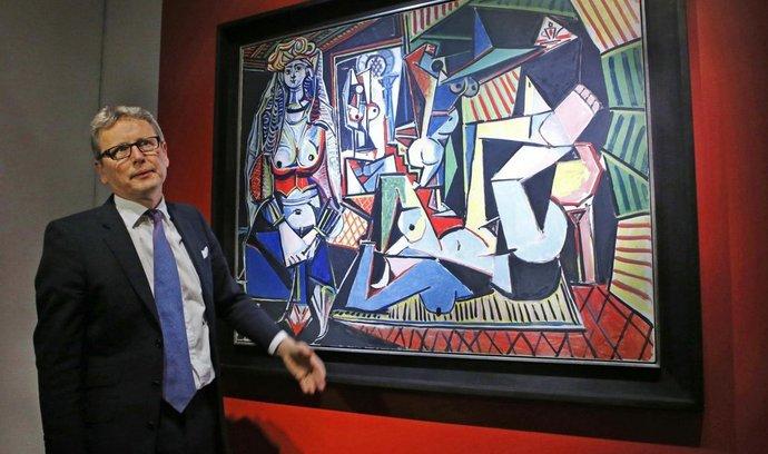 Picassovo plátno se vydražilo za rekordní sumu 4,4 miliardy