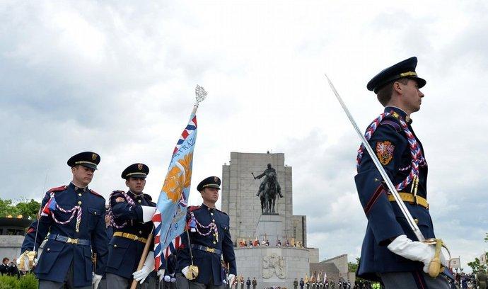 Pietní akt k výročí ukončení druhé světové války