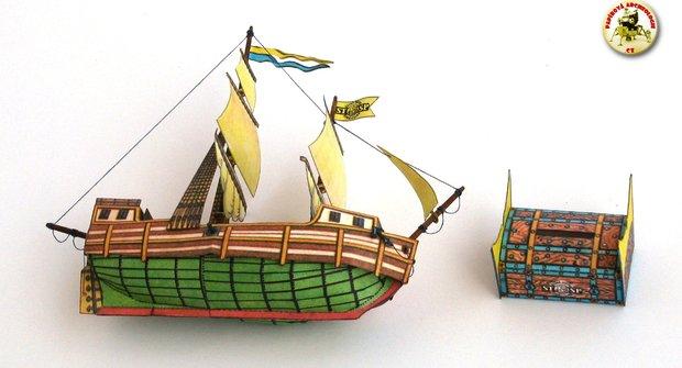 Papírová historie: První plachetnice v ABC
