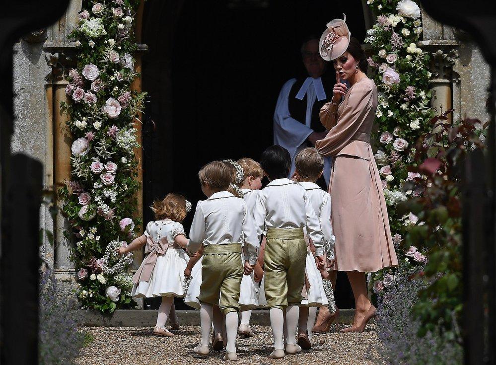 Královské děti s Kate Middleton