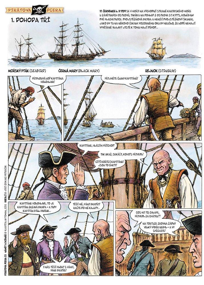 Pirátova dcera 1: Dohoda tří