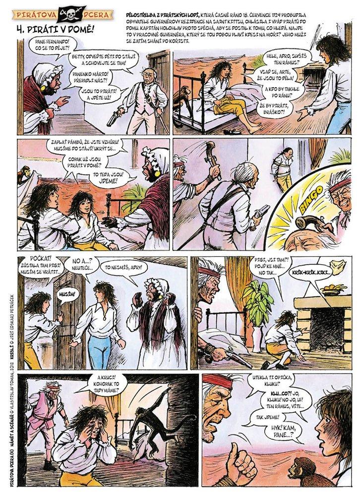 Pirátova dcera 4: Piráti v domě!