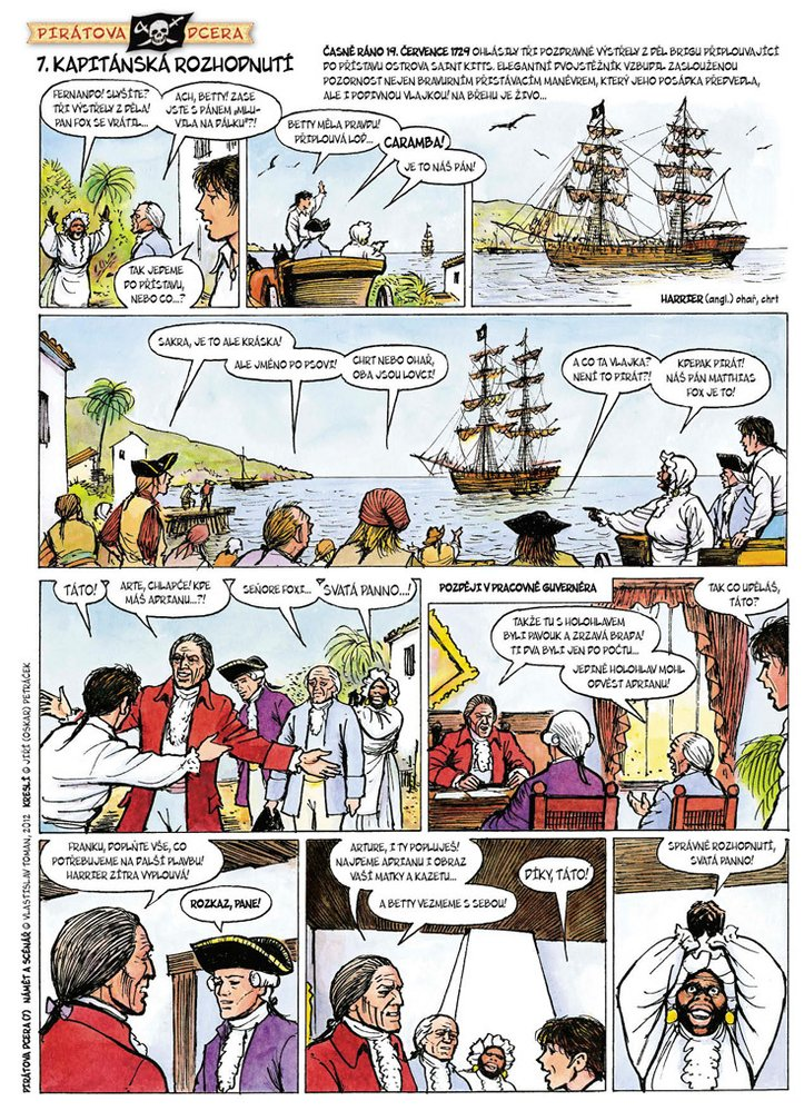Pirátova dcera 7: Kapitánská rozhodnutí