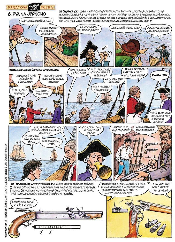Pirátova dcera 8: Dva na jednoho