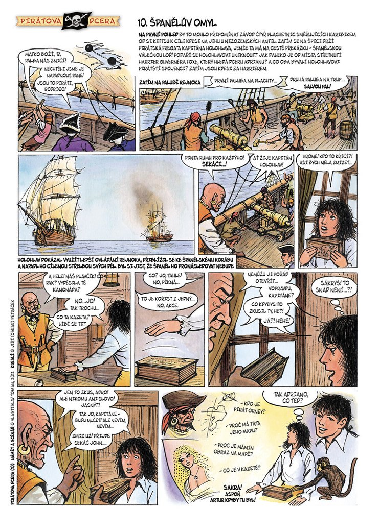 Pirátova dcera 10: Španělův omyl