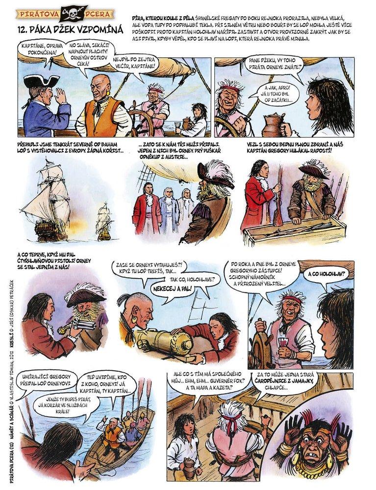Pirátova dcera 12: Páka Džek vzpomíná