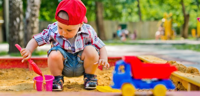 Všechno, co musíte vědět, než s dětmi vyrazíte na pískoviště