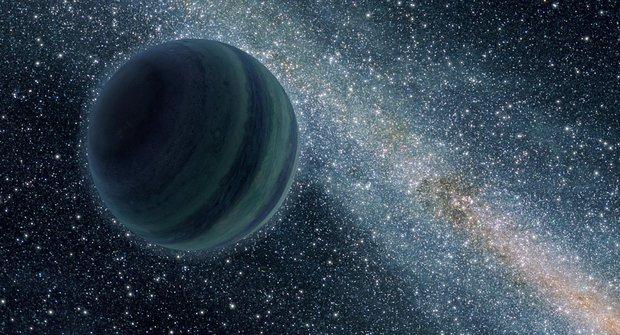Nové objevy ve vesmíru: Planety bez domova