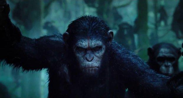 Vyhodnocení soutěže o ceny k filmu Úsvit planety opic