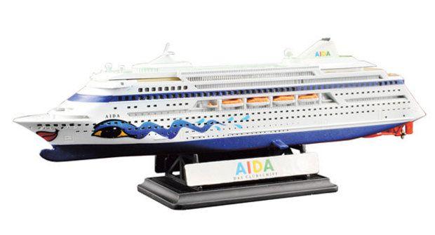 Plastikové modely 8: Stavba lodě Aida
