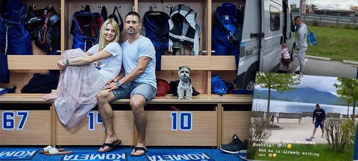 Tomáš Plekanec s Lucií Šafářovou vyrazili na trip po Evropě