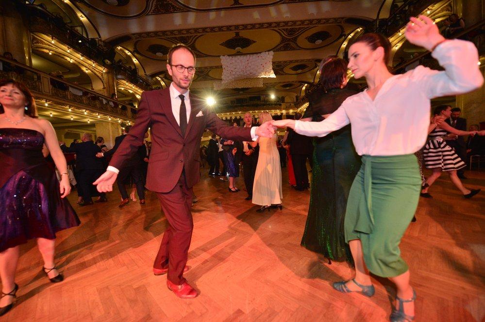 Historicky první ples Reflexu