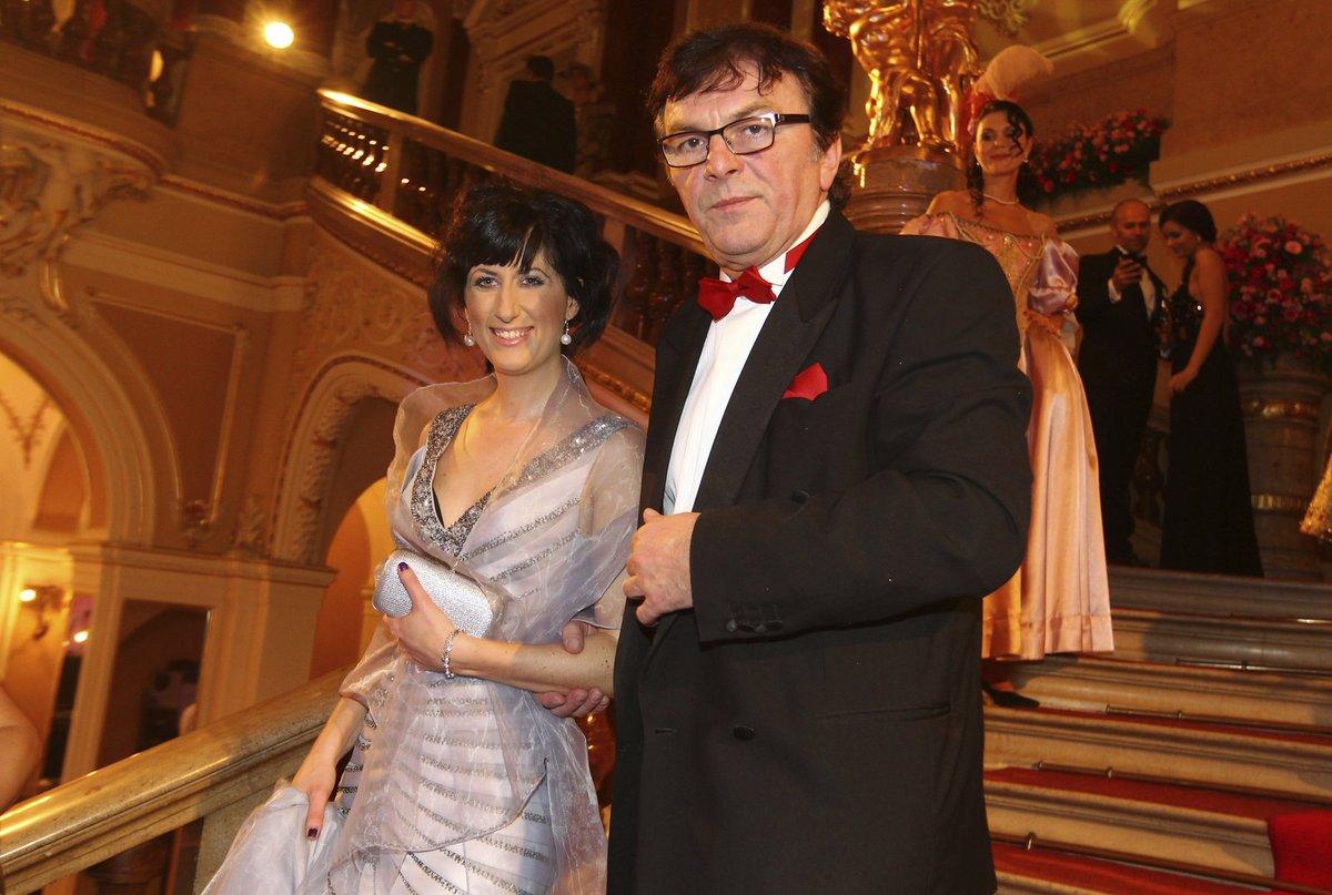 Pavel Trávníček se svou dlouholetou partnerkou Monikou Fialkovou.