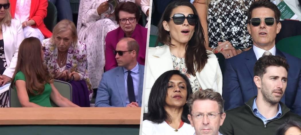 Finále Wimbledonu mezi Karolínou Plíškovou a Ashleigh Bartyovou bavilo osobnosti. Nenechali si ho ujít princ William s chotí, tenisové ikony Martina Navrátilova s Billie Jean Kingovou či herecká legenda Tom Cruise s kolegyní Hayley Atwellovou.
